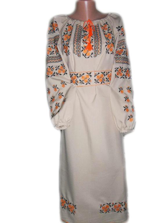 """Жіноче вишите плаття """"Ідел"""" (Женское вышитое платье """"Идел"""") PL-0019"""