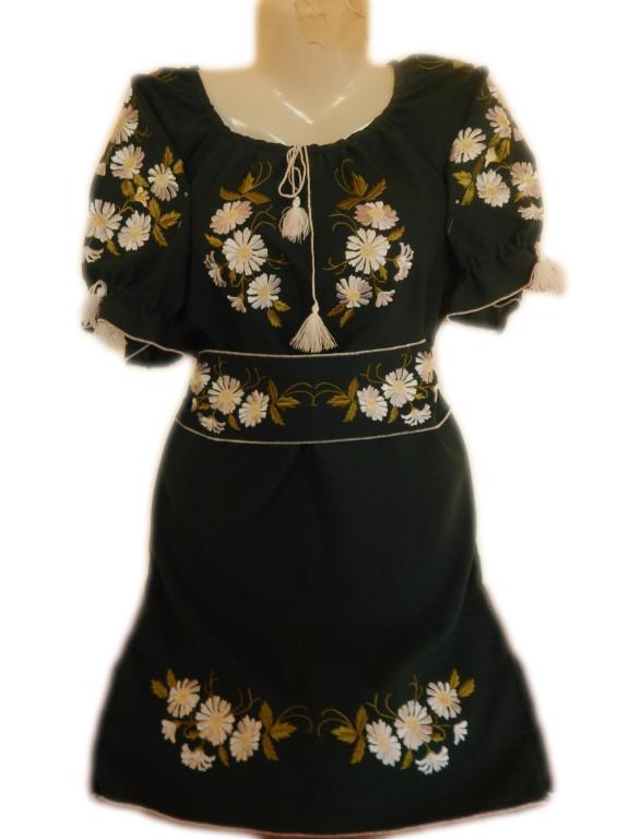 """Жіноче вишите плаття """"Ілайн"""" (Женское вышитое платье """"Илайн"""") PL-0022"""