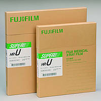 ПЛЕНКА МЕДИЦИНСКАЯ РЕНТГЕНОВСКАЯ FUJIFILM SUPER HR-U (Зеленая) 30Х40СМ 100 ЛИСТОВ, фото 1