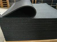 Резиновые маты 27.78, 25мм, черный