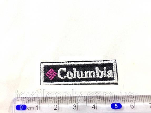 Нашивка  columbia планка, фото 2