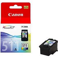 Кольоровий Струменевий картридж Canon CL-511.  9мл  для  MP250, MP252, MP260, MP270,  . ОРИГІНАЛ-ЯПОНІЯ