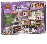 """Конструктор Bela Friends 10493 """"Спортивный лагерь: сплав по реке"""" (аналог LEGO Friends 41121)"""