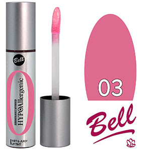 Bell HypoAllergenic Блеск для губ Wet&Juicy LipTint Тон №03 розовый, глянцевый