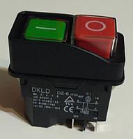 Кнопка к бетономешалке двойная DKLD DZ (4) 6 - 4 выхода