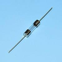 Предохранитель 5х20мм с выводами, стекло  1.0A 250В