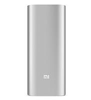Дополнительная батарея Xiaomi Mi power bank 16000mAh серебристая оригинал