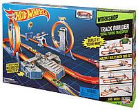Трек хот вилс Двойное ускорение Hot Wheels Track Builder Total Turbo Takeover Track Set