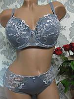 Комплект нижнего женского белья на тонком поролоне Lise marie 4060