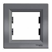 Блок-рамка SCHNEIDER ASFORA EPH5800171 1-я антрацит