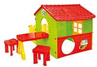 Cадовый домик Garden House столик + 2 табуретки