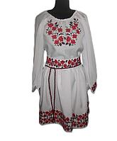 """Жіноче вишите плаття """"Ербана"""" (Женское вышитое платье """"Ербана"""") PT-0003"""
