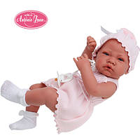 Виниловая Кукла младенец Мануэла 42 см. Antonio Juan 5068
