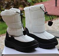Детские ботинки -дутики с мехом