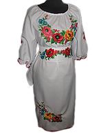 """Жіноче вишите плаття """"Жасмин"""" (Женское вышитое платье """"Жасмин"""") PT-0013"""