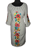 "Жіноче вишите плаття ""Жоселін"" (Женское вышитое платье ""Жоселин"") PT-0019"