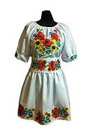 """Жіноче вишите плаття """"Зелма"""" (Женское вышитое платье """"Зелма"""") PT-0016"""