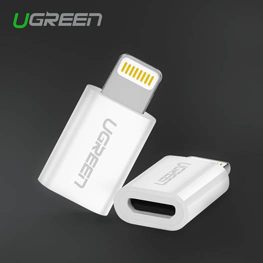 Ugreen адаптер Micro Usb -> 8 pin Lightning Apple (iPhone iPad iPod)