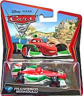 Игрушечная машинка из фильма Тачки 2 Disney Cars FRANCESCO BERNOULLI Mattel