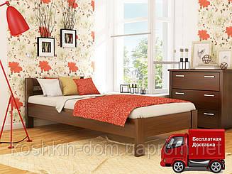 Кровать односпальная Рената из натурального дерева