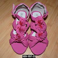 Детские босоножки с супинатором и кожаной стелькой для девочки, 25-32 размер