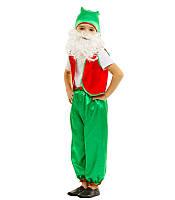Карнавальный Костюм Гнома зеленый