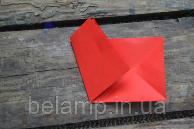 рождественский веночек из бумажных звезд