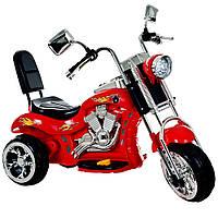 Электромотоцикл Alexis Babymix красный