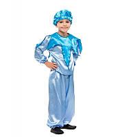 Карнавальный костюм Ручейка, Облачка, Тучки, Капельки для мальчика