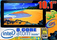 Планшет-ТЕЛЕФОН, Intel 8 core, 10,1'', GPS, 3G (ОРИГИНАЛ)