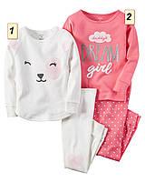Пижама детская для девочки Carter's США, (размер: 2Т;3T;4T;5Т;6;7;8):