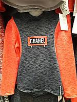 Детская модная трикотажная кофта Шанель