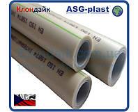 Труба полипропиленовая ASG Nano Ag pn20 Ø40х5,6 композит (Чехия)