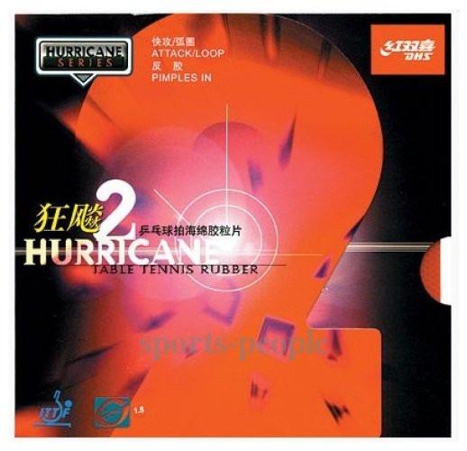 Накладка для ракетки DHS Hurricane 2 - Наш интернет-магазин: sports-people.com.ua в Одессе