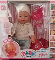 Кукла-пупс Baby Born, Оригинал, девять функций. BL-88833.