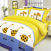 Постельное белье ТЕП 604 Жирафы Бязь Евростандарт