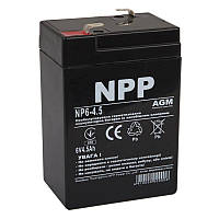 Аккумуляторная батарея NPP 6V 4.5AH (NP6-4.5) AGM