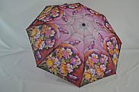 """Женский зонт полуавтомат на 8 карбоновых спиц от фирмы """"SWIFTS""""."""