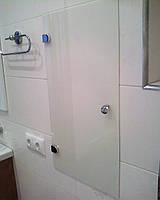 Дверцы для ниш из стекла или зеркала с монтажом.
