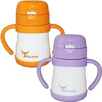 Термос детский питьевой с трубочкой  Toscana 230 мл, фото 1