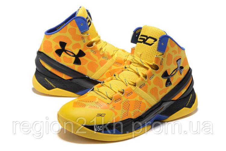 Баскетбольные кроссовки Under Armour Curry 2 Giraffe