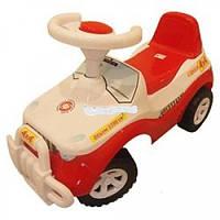 Каталка-толокар детская машинка Джипик Орион 105 красный