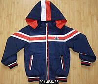 Куртка ветровка для мальчика 4-5 лет, рост 104 см