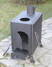 Печь-буржуйка двухкамерная конвекционная, фото 3