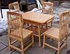 Плетеная мебель из лозы кухонная