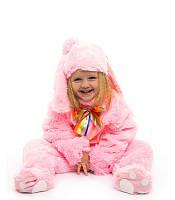 Карнавальный костюм Зайчик - малыш розовый