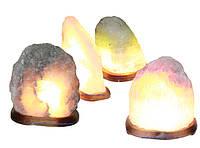 "Солевая лампа "" Скала "" от 1 кг  (Украина)"