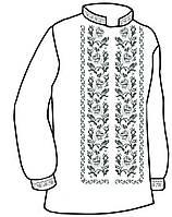 #Заготовка для вишивки чоловічої сорочки (СЧ-11)
