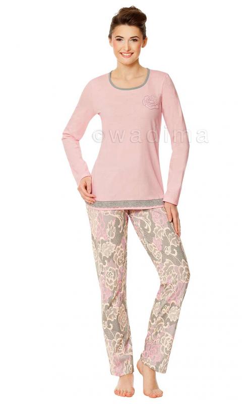 Жіноча піжама з довгим рукавом Wadima 104348