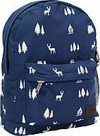 Рюкзак городской с рисунком (Лес, олени)